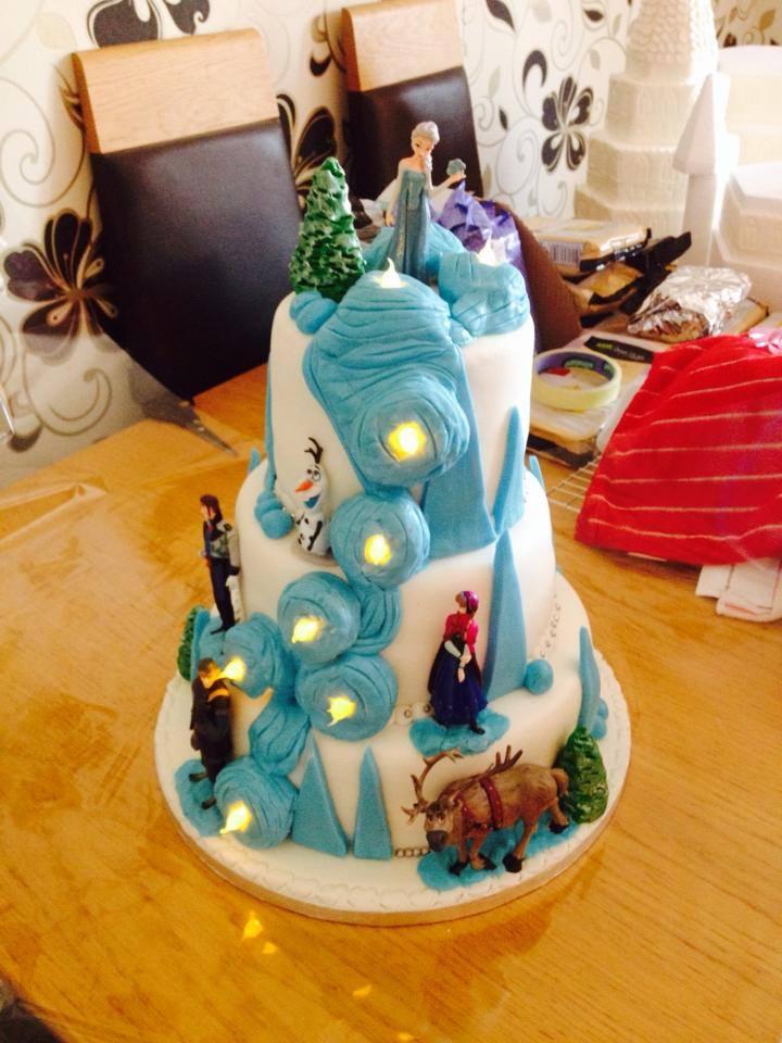 Popular Cake With Lights